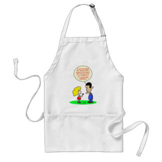 obama swine flu mexico gun control adult apron