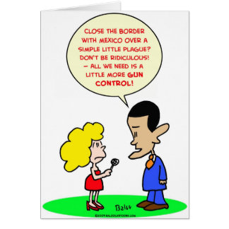 obama swine flu mexico gun control cards