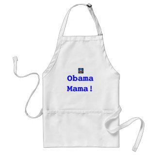 Obama symbol1, ObamaMama! Adult Apron