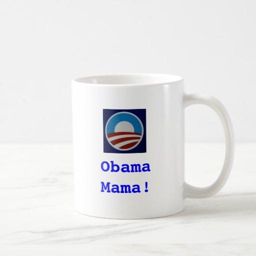 ¡Obama symbol1, ObamaMama! Tazas