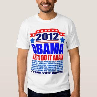 Obama T-Shirt: 2012 Obama - Do It Again T-Shirt
