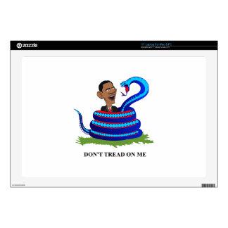 """obama t-shirt final (1).PDF 17"""" Laptop Decal"""
