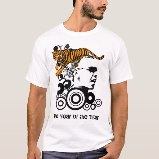 Obama T-SHIRT The Year of the Tiger