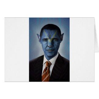 Obama Tarjeta De Felicitación