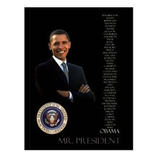 Obama Tarjetas Postales