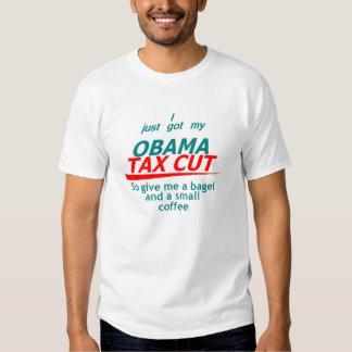 OBAMA TAX CUT T-Shirt