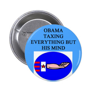 obama tax joke 2 inch round button