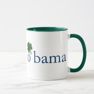 Obama, taza irlandesa