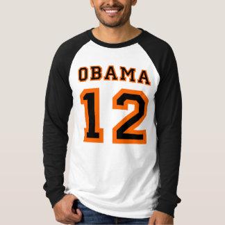 Obama Team 2012 Baseball Raglan T-shirts