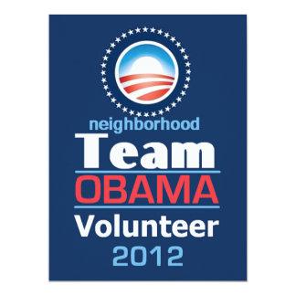 Obama TEAM Card