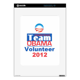 Obama Team Decals For iPad