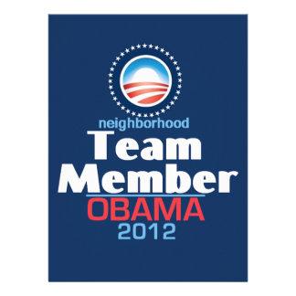 Obama TEAM Invites