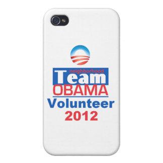 Obama Team iPhone 4 Cover