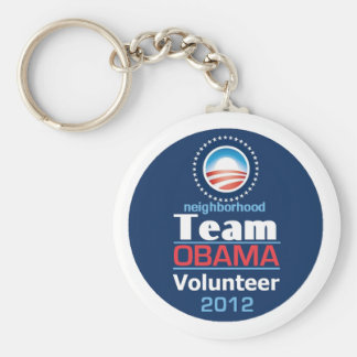 Obama TEAM Keychain