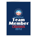 Obama Team Member Cards