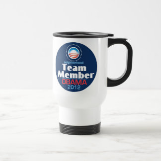 Obama Team Member Travel Mug