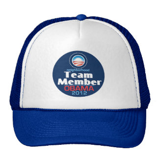Obama Team Member Trucker Hat