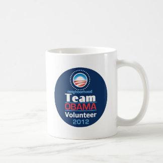 Obama TEAM Coffee Mugs