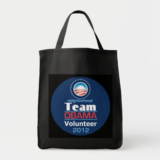Obama TEAM Tote Bag
