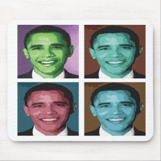 Obama Technicolor Mouse Mat