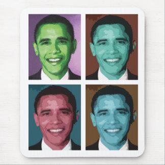 Obama Technicolor Mouse Pad