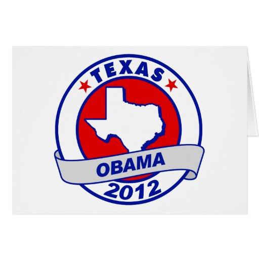 Obama - Tejas Tarjeta De Felicitación