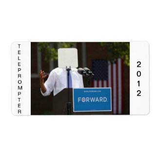 Obama Teleprompter Stickers