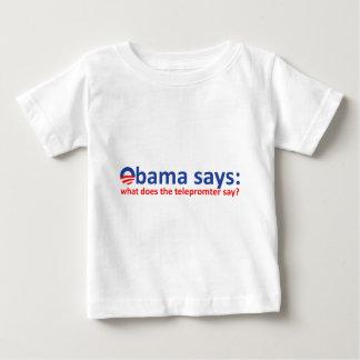 Obama Telepromter Baby T-Shirt