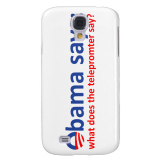 Obama Telepromter Samsung Galaxy S4 Cover