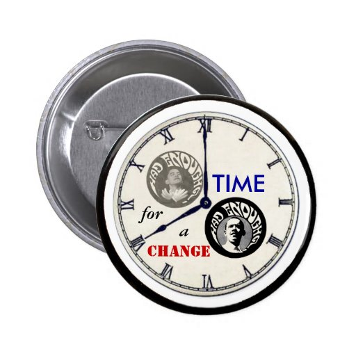 ¿Obama tenía bastantes? botón del reloj Pin Redondo De 2 Pulgadas