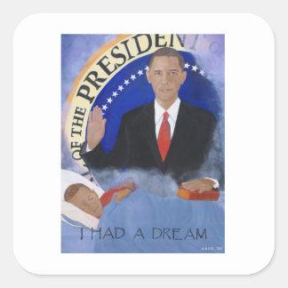 Obama: Tenía un pegatina ideal