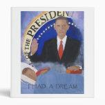 Obama: Tenía una carpeta ideal del cuaderno