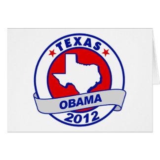 Obama - texas card