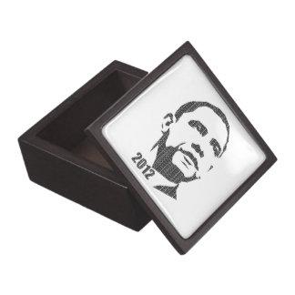 Obama Text Design 2012 Jewelry Box