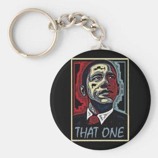 Obama That One 5 Basic Round Button Keychain