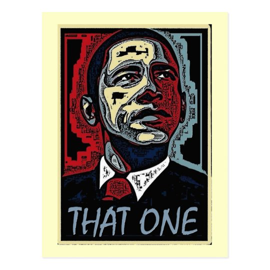 Obama That One 5 Postcard