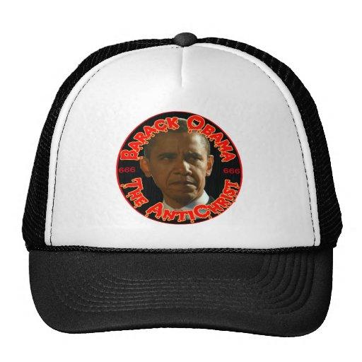 Obama The AntiChrist Trucker Hat