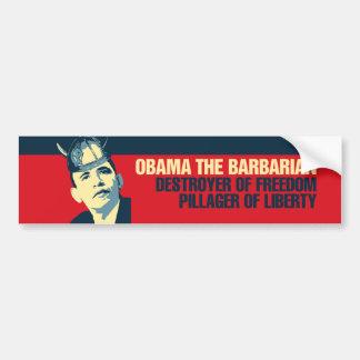Obama the Barbarian Bumper Stickers