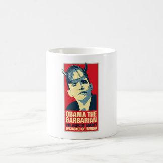 Obama the Barbarian Mugs