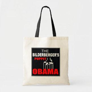 Obama - The Bilderberger's Puppet Tote Bag
