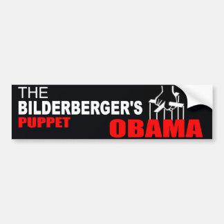 Obama - The Bilderberger's Puppet Car Bumper Sticker