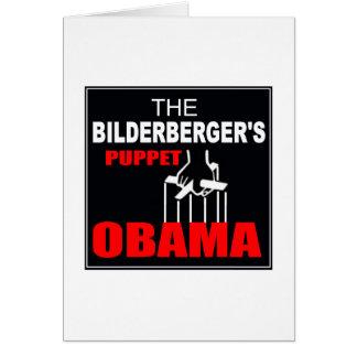 Obama - The Bilderberger's Puppet Card