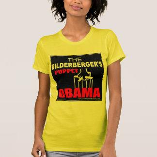 Obama - The Bilderberger's Puppet Tee Shirt