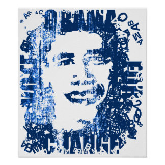 OBAMA The Candidate Poster