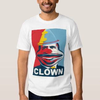 Obama The Clown Tee Shirt