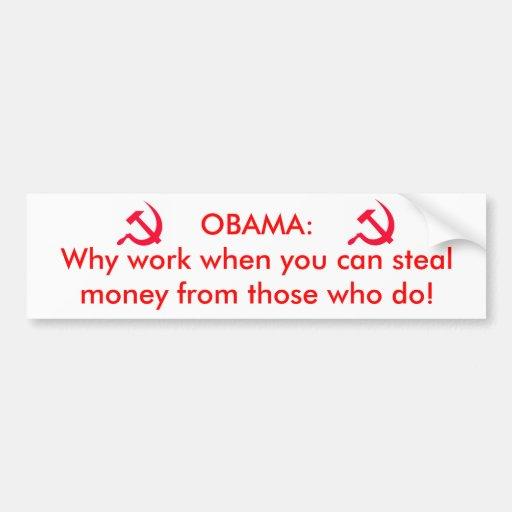 Obama the communist bumper stickers