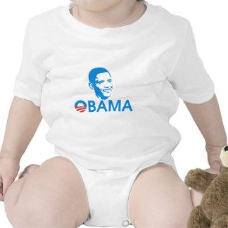 Obama The Hero Baby Creeper