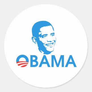 Obama The Hero Sticker