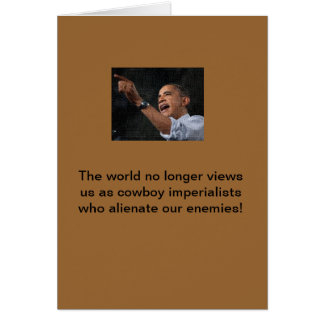 Obama the imperialist card