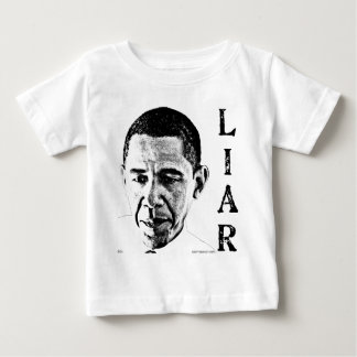 Obama the Liar Baby T-Shirt